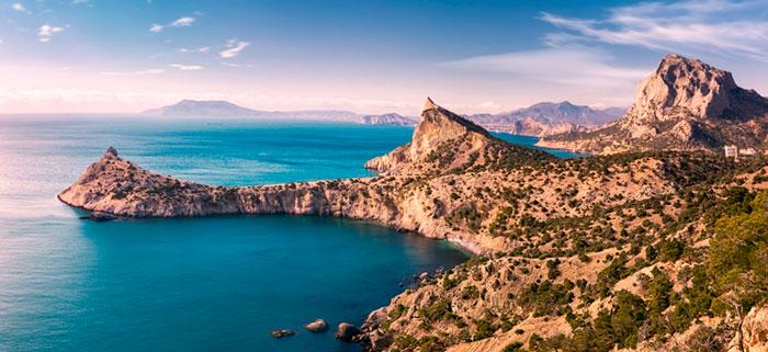 море и горы в крыму