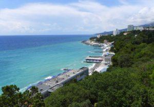 Крымский курорт Гаспра – недорогое живописное место для  отдыха и путешествий