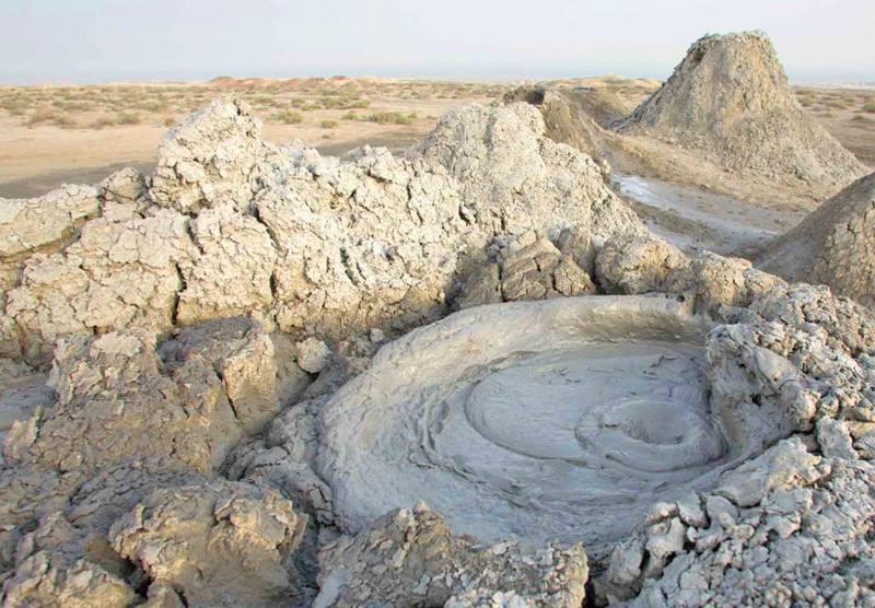 фото вулкана грязевого