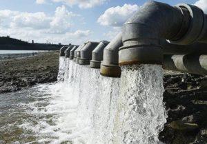 трубы с водой
