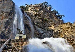 Самый высокий водопад Учан-Су – летящая вода южного берега
