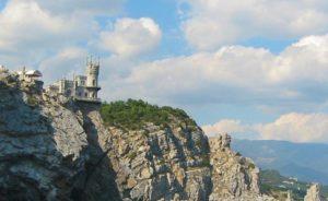 Ай-Тодорский маяк в поселке Гаспра республики Крым