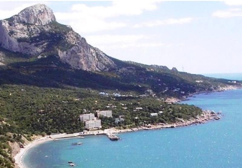Самая западная точка южной части крымского берега