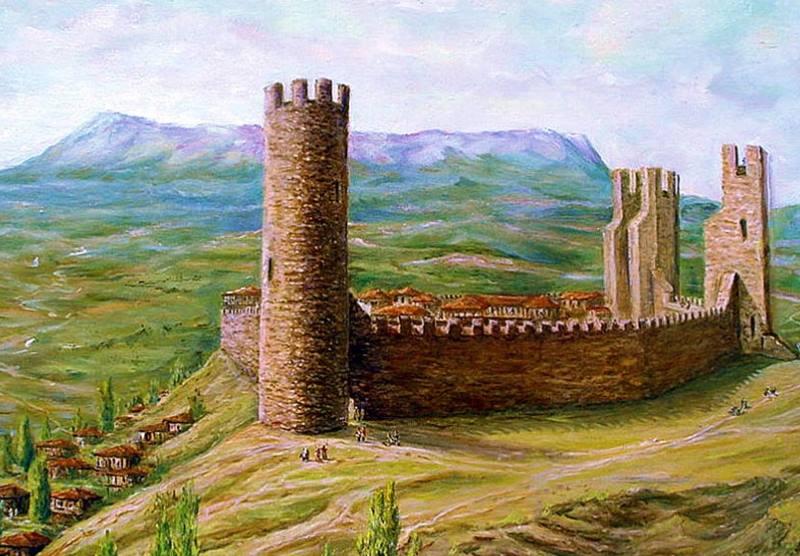 К настоящему времени остались только развалины крепости состоящие из каменной башни и части стены.