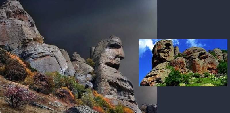 Название горы так же связывают и с этой легендой