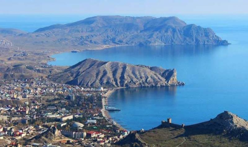 Самый длинный мыс в Крыму