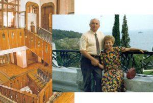 Чем известна дача Горбачева в Форосе в Крыму